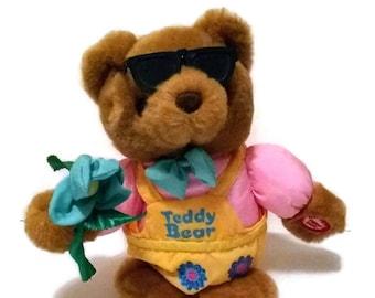 352d0b2e600 Vintage Singing Teddy Bear
