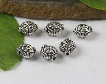14pcs Tibetan Silver color Angel spacer beads EF0443