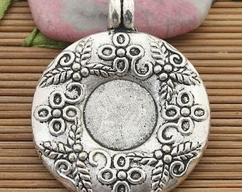 16pcs Tibetan silver crafted teddy bear pendants H0123