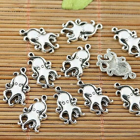 66pcs Tibetan Silver Tone Eye Design Charms EF1727