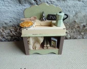 Miniature Dollhouse Furniture Etsy