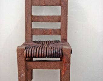 Stoneware little chair