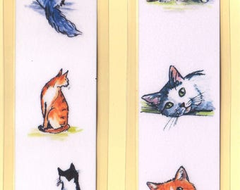 Cats Bookmark