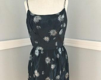af22cdd0b92 Alfred Shaheen Dress Vintage 50s Shaheen Shaheen Dress Black Shaheen