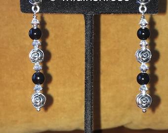 Blooming Roses Earrings