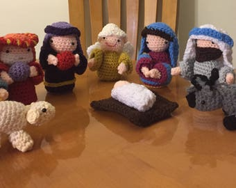 Handmade Nativity Scene