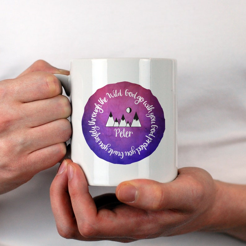 Holy Communion Bible Verse Gift Mug image 0