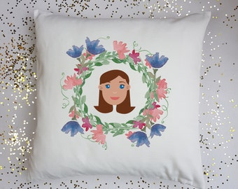 Personalised Mummy Cushion Mother's Day Cushion Gift for Mum Gift for Sister Gift for Auntie Birthday Gift Birthday Gift for Mum Cushion