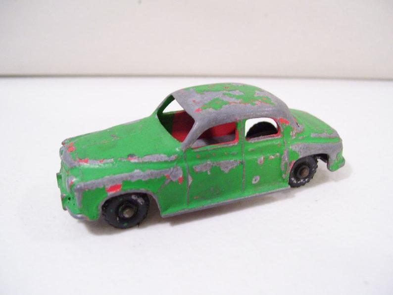 England Vintage Budgie Rovermatic Squad Car Rover 105 Die-cast Car No 60