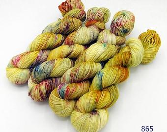 SockYarn, handdyed  75 Wool, 25 Polyamid 100g 3.5 oz. Nr.865
