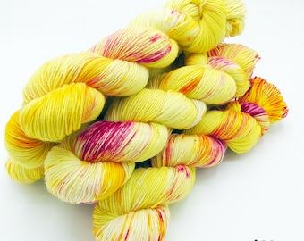 SockYarn, handdyed  75 Wool, 25 Polyamid 100g 3.5 oz. Nr.632
