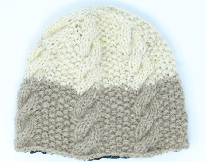 Women's Hand Knitted Wool Hat