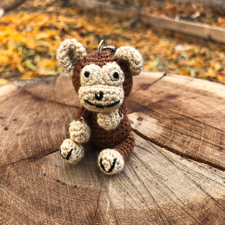 Amigurumi dog keychain dog Amigurumi keyring crochet | Etsy | 3000x3000