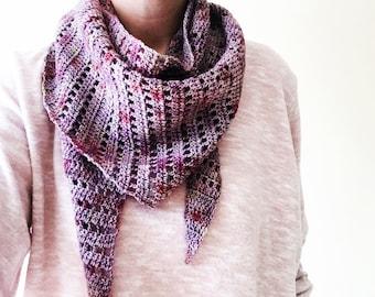 Parallel Bars: A Crochet shawl PDF Pattern