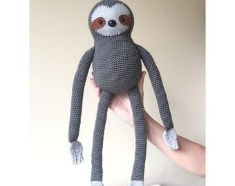 Simon the Sloth: A Crochet toy PDF Pattern
