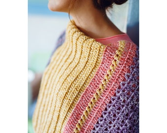 Free Spirit Shawl: A Crochet PDF Pattern