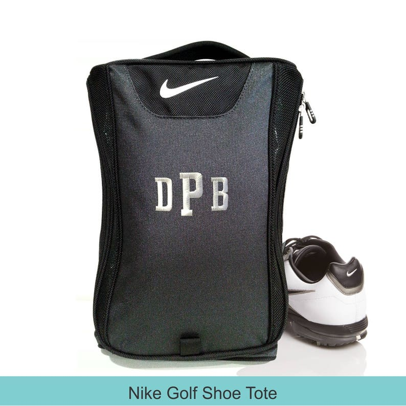 Golf Shoe Bag >> 6 Shoe Bags Nike Brand Golf Shoe Bag Groomsmen Gift Golf Etsy