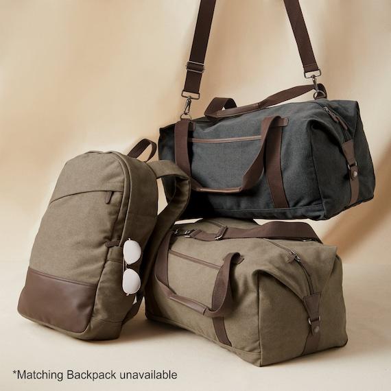 DAYIYANG Special Design Mens Messenger Bag Official Document Canvas Bag Computer Shoulder Bag Retro with Crazy Horse Skin Color : Beige, Size : M