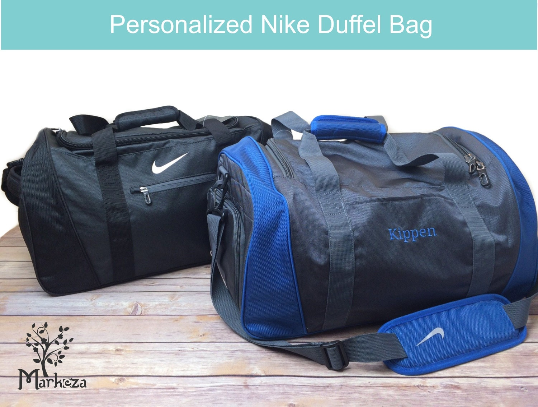 1 Personalized Nike Duffel Bag Monogrammed Duffel Bag  b7afb661e2cb8