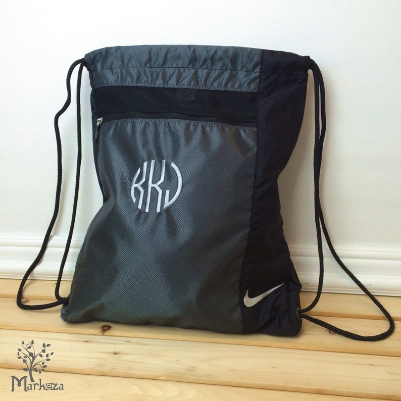 b60a4aa61d Personalized Nike Cinch Bag Cinch Backpack Custom Golf Cinch