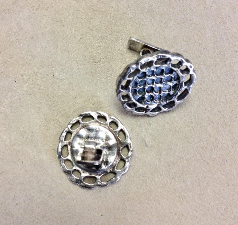 Pentti Sarpaneva Silver Cufflinks