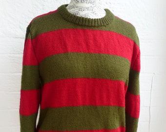 Freddy Krueger Sweater Etsy