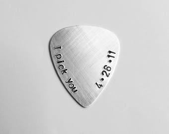Custom Guitar Pick | Anniversary Gifts for Boyfriend