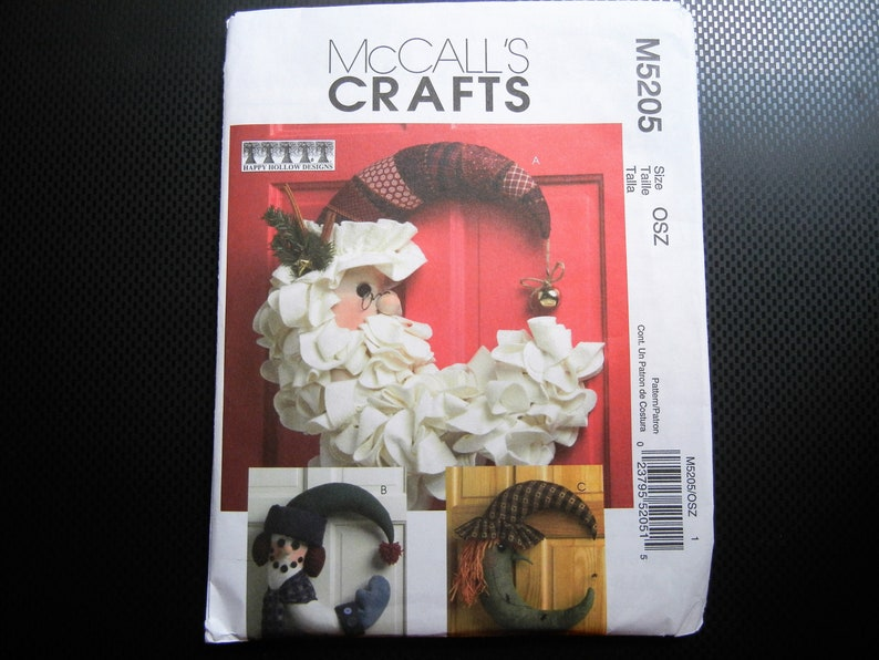 Seasonal Decorations Sewing Pattern Wall and Door Decorations image 0