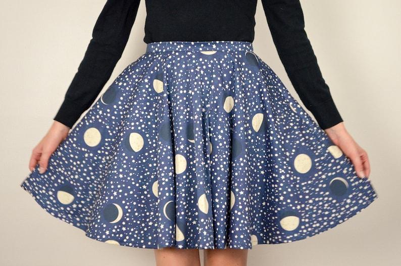 Celestial Skirt in Midnight / Night Skies & Lullabies Skirt in image 0