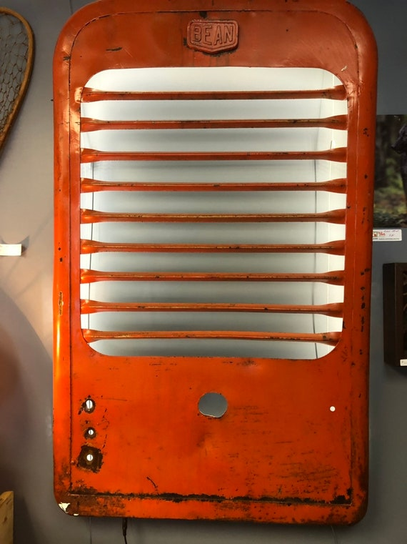 Upcycled Tractor Grille Accent Light