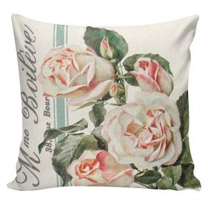 Spring Pillows Burlap Seed Packet 12x18 Botanical Pillows Throw Pillows Cushion Covers #EHD0167 Made in USA Cotton Lilies