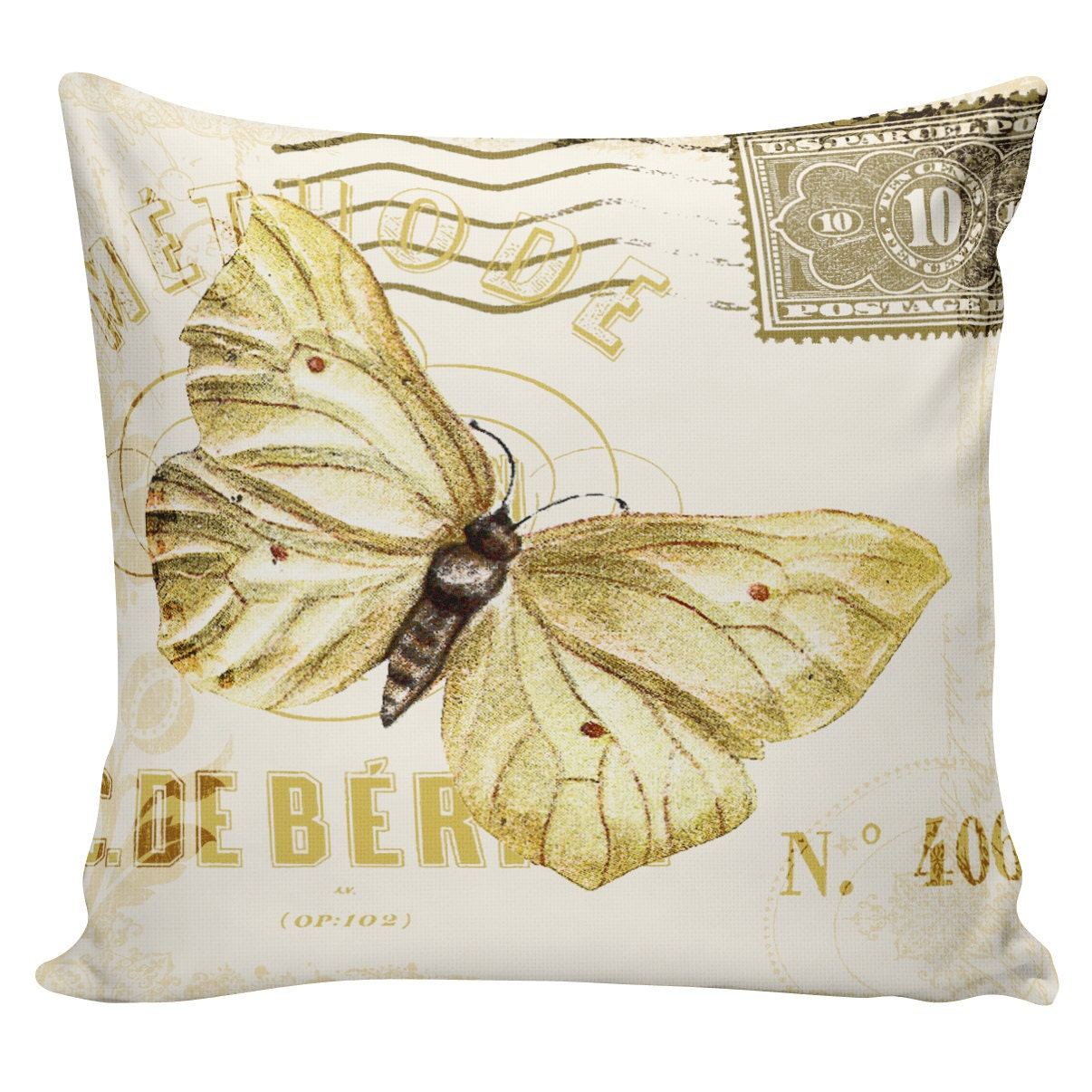 Canadian Inspired Home Decor Canada Pillow Via Etsy: Home Decor Pillow Cushion Spring Butterfly French Floral