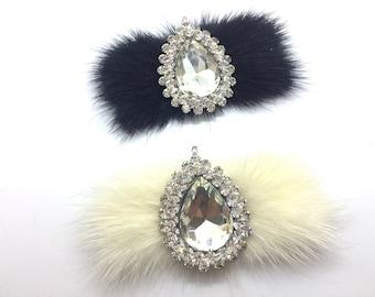 d2f320b0b46f7 Crystal buckle, Fur Crystal Shoe Decoration, Wedding Rhinestone Crystal  Establishment , Shoes Jewelry Bag Hair Accessories Supply