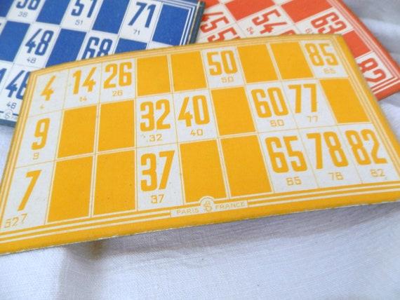 carte de bingo datant chômeurs site de rencontres au Royaume-Uni