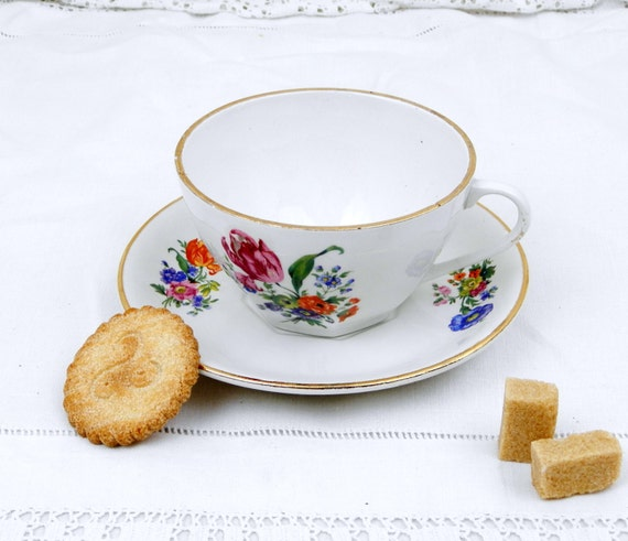 1 gro e antike franz sische badionviller keramik kaffee tasse etsy. Black Bedroom Furniture Sets. Home Design Ideas