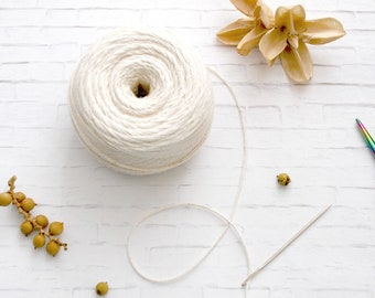 Cotton Twine and Needle for Felt Ball Garland, DIY Garland Tools, Felt Ball Garland Essentials, Felt Ball Most Have