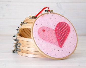 """9"""" Round Edge Wooden Embroidery Hoop - Smooth Edge Embroidery Hoops - Wooden Embroidery Hoops - Large Embroidery Hoop - Wall Art Hoops"""