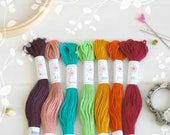 "Embroidery Floss ""Parlour Pallete"" - 7 Skeins Pack - Embroidery Thread by Sublime - Sublime Stitching - Embroidery Floss - Cotton Floss"