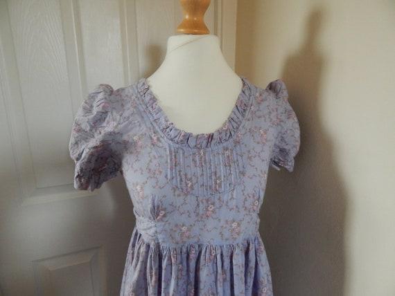Vintage Laura Ashley dress - early 1970s - full le