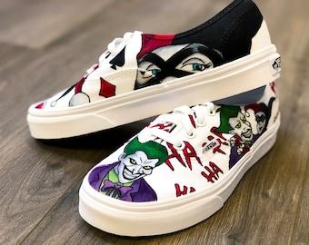 f873e18691c6 Joker and Harley Custom Vans