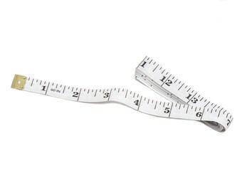 soft tape measure etsy Craftsman Tape Measure Online vinyl measuring tape 60 white soft flexible