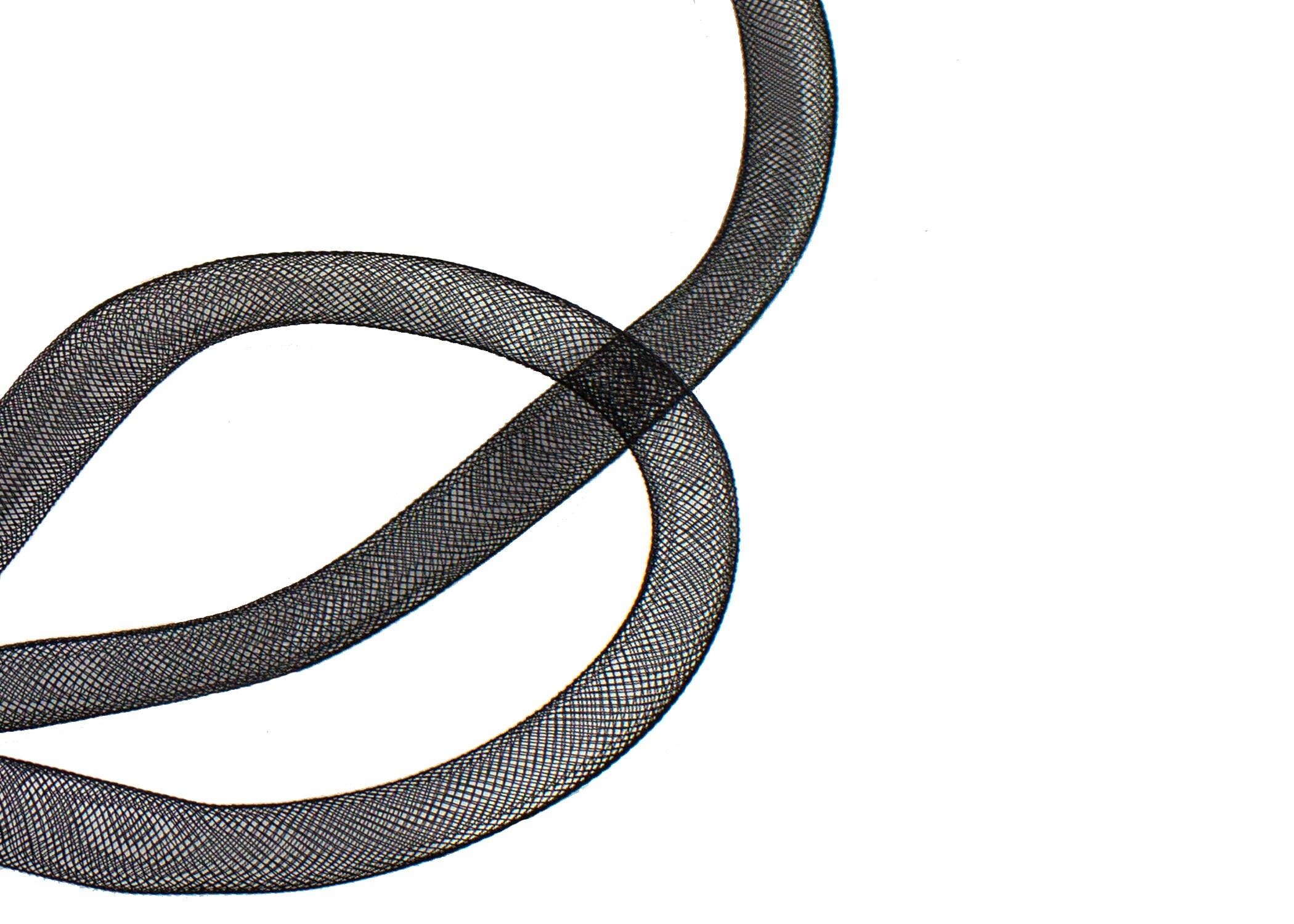 """Crinoline Trim 10 cm 9 yards Piece  4/"""" Aqua Horsehair Braid"""