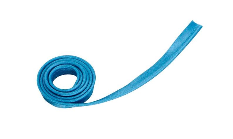 5 Yards Satin Piping Binding Tape 12 Wide Aqua Blue