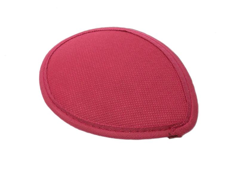 Teardrop Fascinator Hat Base with Hair Clips 6 x 4 12 Maroon