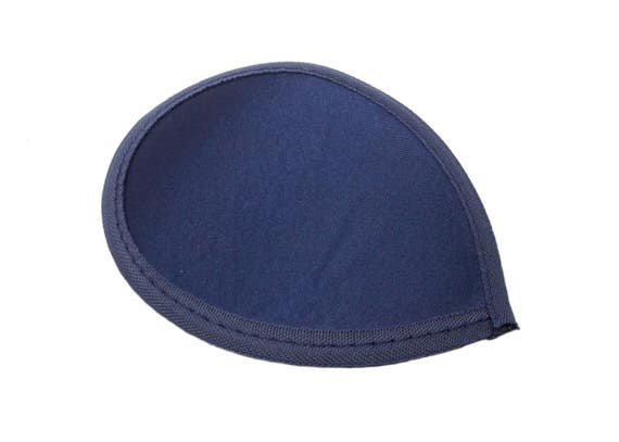 Navy Blue Teardrop Fascinator Hat Base with Hair Clips Available in 15 Colors