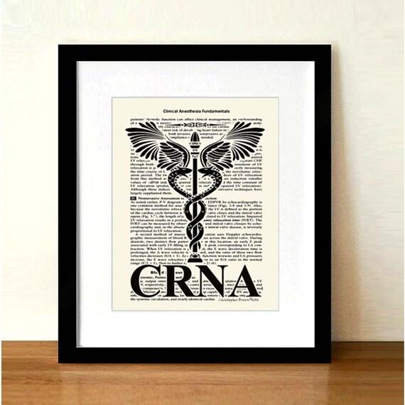Nurse Gift Certified Registered Nurse Anesthetist Etsy