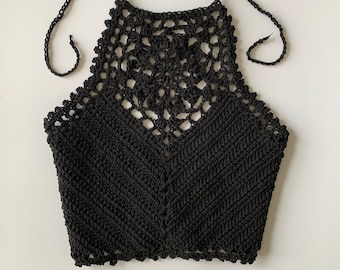Crochet Crop Top Pattern - Zinnia Crochet Crop Top PATTERN