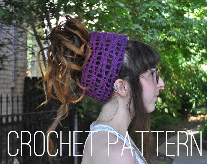 Crochet Pattern - Wavy Headband