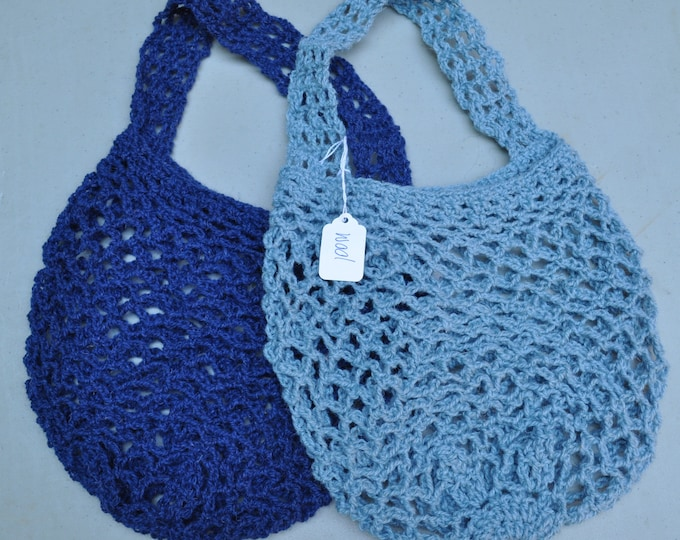 Crochet Mesh Market Bags // Foraging Bag // Beach Bag