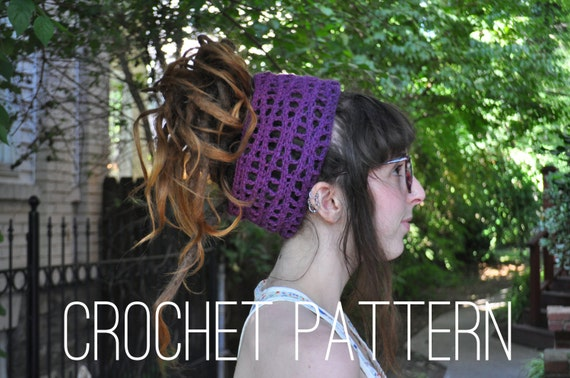 Crochet Pattern - Wavy Headband